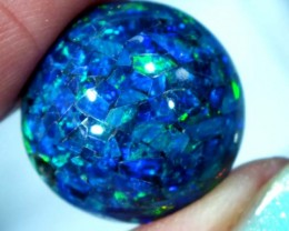 MOSAIC OPAL BEAD  DRILLED 19.05 CTS  LO-1610
