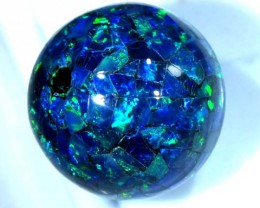 MOSAIC OPAL BEAD  DRILLED 19.25 CTS  LO-1611