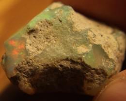 17.33ct Welo Ethiopia Opal Rough/Specimen Crack Free.