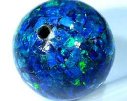 MOSAIC OPAL BEAD  DRILLED 12.90 CTS  LO-1613