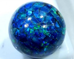 MOSAIC OPAL BEAD  DRILLED 12.75 CTS  LO-1614