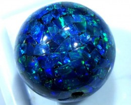 MOSAIC OPAL BEAD  DRILLED 12.25 CTS  LO-1618