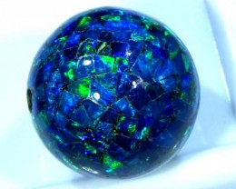 MOSAIC OPAL BEAD  DRILLED 12.50 CTS  LO-1623