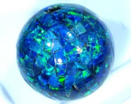 MOSAIC OPAL BEAD  DRILLED 20.85 CTS  LO-1624
