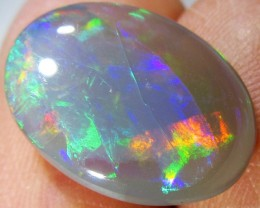 3.4Cts Cabochon Good Rolling flash Opal  SCO 706A