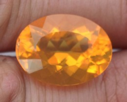 10.62 Carat Large, Colorful Brazilian Fire Opal