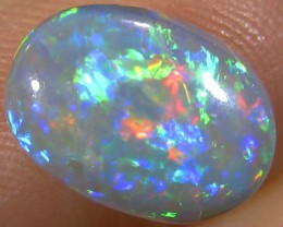 1.7Cts Cabochon Good  Multi Fire Opal  SCO 140A