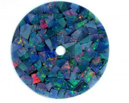 MOSAIC OPAL  WATCH FACE 4.90 CTS  LO-1641