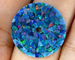 MOSAIC OPAL WATCH FACE 5.00 CTS  LO-1644
