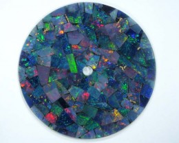 MOSAIC OPAL  WATCH FACE 5.00 CTS  LO-1647
