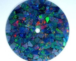 MOSAIC OPAL INLAY WATCH FACE 2.75 CTS  LO-1655