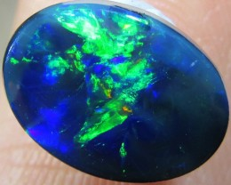 1.4Cts Cabochon Good  Black Opal  SCA 441A