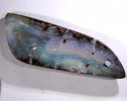 25.20 CTS-BOULDER OPAL STONE DRILLED   NC-2094
