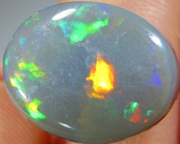 2.8Cts Cabochon Good  Multi fire Opal  SCO 440A