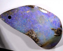 56.00 CTS-DRILLED BOULDER OPAL STONE  NC-2112