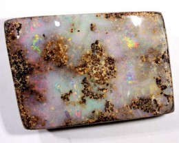 DRILLED BOULDER OPAL STONE 41 CTS  NC-2125