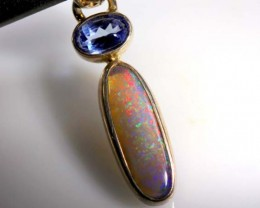 Black Opal & Gemstone Pendants