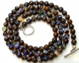 BOULDER OPAL BEADS 95 CTS  LO-1769