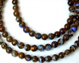 65 cts BOULDER OPAL BEADS  LO-1772