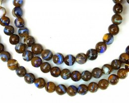 BOULDER OPAL BEADS 75 CTS  LO-1773