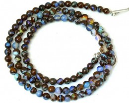 BOULDER OPAL BEADS 65 CTS  LO-1775