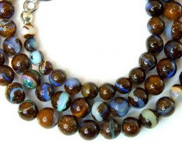 BOULDER OPAL BEADS 90 CTS  LO-1777