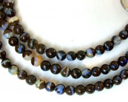 BOULDER OPAL BEADS 55 CTS  LO-1779