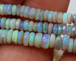 55CTS AUSTRALIAN LIGHTNINGRIDGE CRYSTAL OPAL BEADS    TBO-GC-
