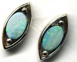 DOUBLET SILVER  EARRINGS  7.2   CTS    OF-913