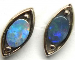 DOUBLET SILVER  EARRINGS 7.2   CTS    OF-915