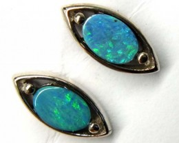 DOUBLET SILVER  EARRINGS   7.0 CTS    OF-918