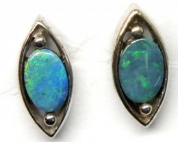 DOUBLET SILVER  EARRINGS   7.0  CTS    OF-921