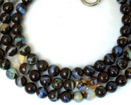 BOULDER OPAL BEADS 100 CTS  LO-1782