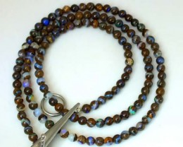 BOULDER OPAL BEADS 50 CTS  LO-1783