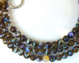BOULDER OPAL BEADS  55 CTS  LO-1784
