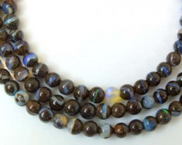 BOULDER OPAL BEADS 50 CTS  LO-1788