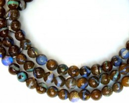 BOULDER OPAL BEADS 60 CTS  LO-1794