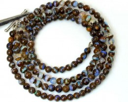 BOULDER OPAL BEADS 50 CTS  LO-1795
