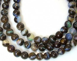 BOULDER OPAL BEADS 60 CTS  LO-1797