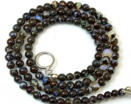 BOULDER OPAL BEADS 70 CTS  LO-1798