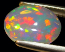 1.92Ct Pink Broadflash Natural Ethiopian Welo Solid Opal