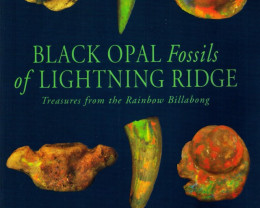 1999 BLACK OPAL FOSSILS OF LIGHTNING RIDGE. 112 pages