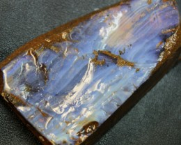 358.10 CTS BOULDER OPAL RUB FACED FOR EASY CUTTING