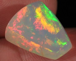 9.16CT~VERY BRIGHT WELO OPAL CAB~PATCHWORK/MIX PATTERN
