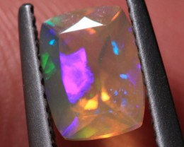 1.11CT~VERY BRIGHT ETHIOPIAN WELO OPAL~FACETED RECTANGLE
