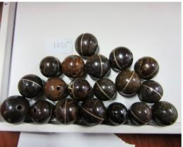 Parcel  19  Drilled Beads  AGR 1035