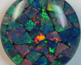 14.9 cts AAA + MOSAIC TOP CRYSTAL OPAL USE TO MAKE THESE MOSAICS C8395