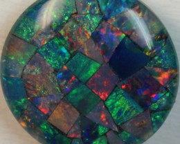 14.9 cts AAA + MOSAIC TOP CRYSTAL OPAL USE TO MAKE THESE MOSAICS C8400