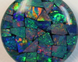 14.3 cts AAA + MOSAIC TOP CRYSTAL OPAL USE TO MAKE THESE MOSAICS C8405