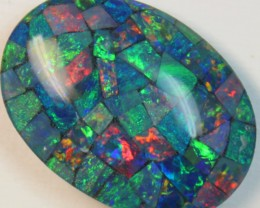 17.1 cts AAA + MOSAIC TOP CRYSTAL OPAL USE TO MAKE THESE MOSAICS C8415